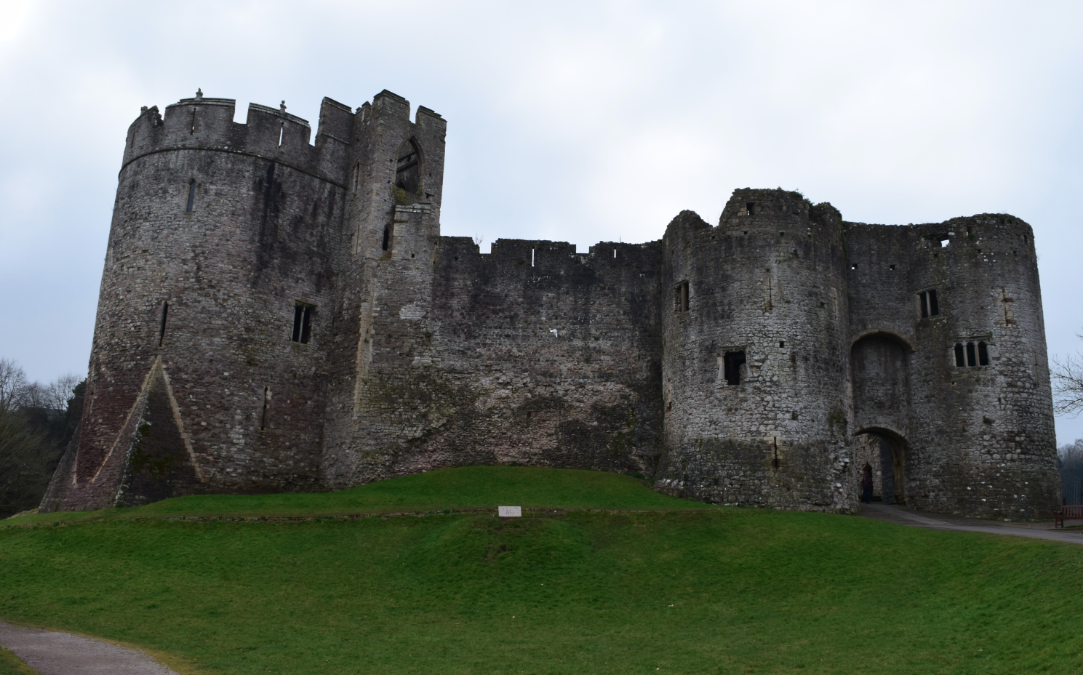 Chepstow Castle - River Wye