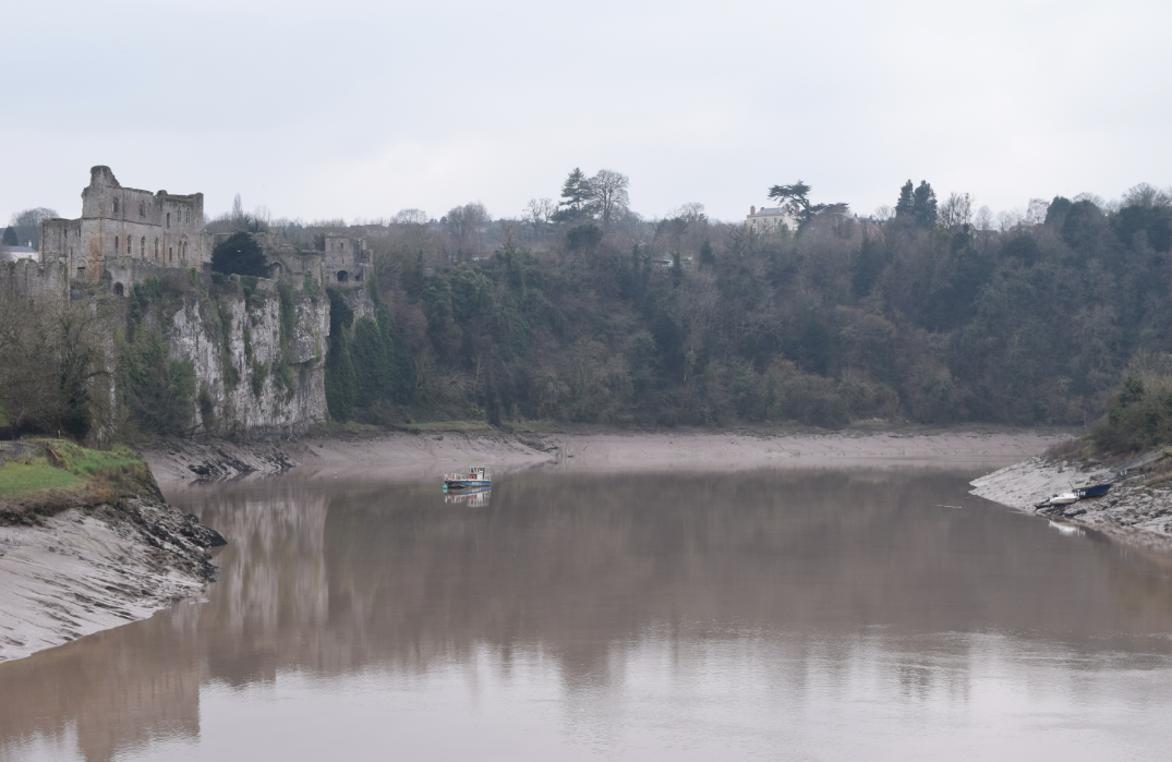 Chepstow Castle - River Wye