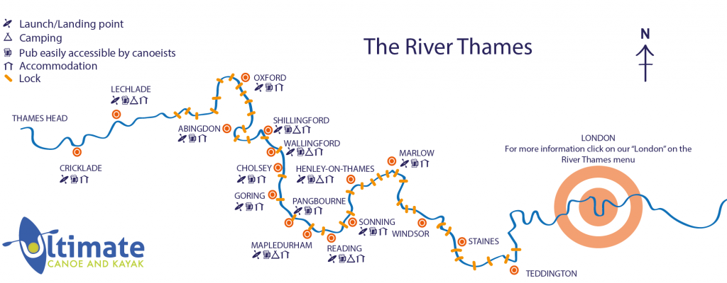 River Thames Locations