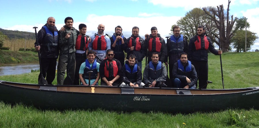 Canoeing stag weekends