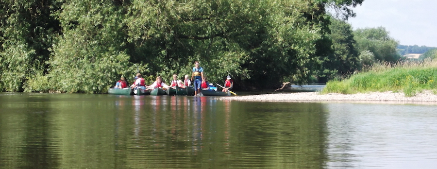 canoeing groups