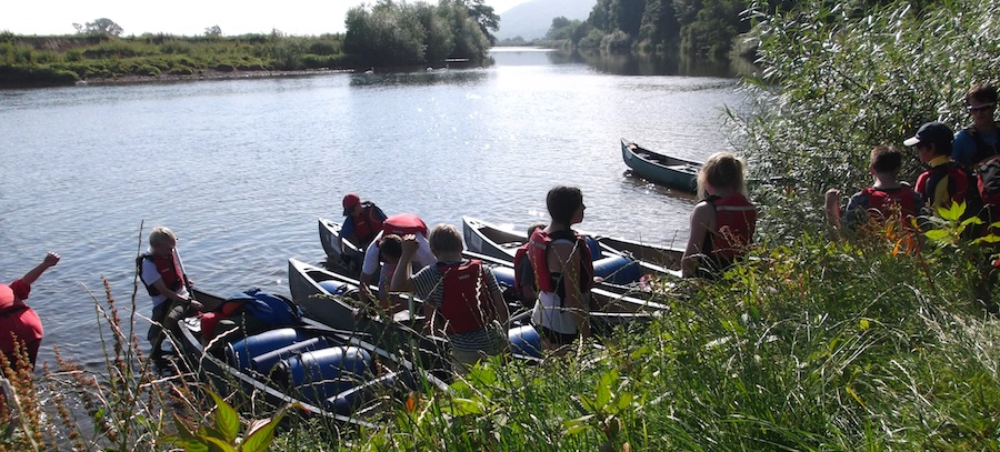 Canoe and Kayak Hire Glasbury